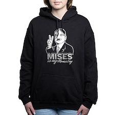 Mises Is My Homeboy Women's Hooded Sweatshirt