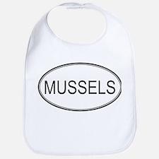MUSSELS (oval) Bib