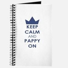 Keep Calm and Pappy On Journal