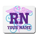 Personalized nurses Mouse Pads