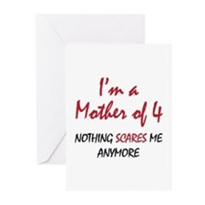 Nothing Scares Mom 4 Greeting Cards (Pk of 10)