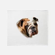 Unique English bulldogs Throw Blanket