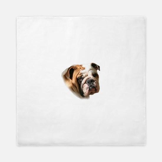 Unique Bulldog Queen Duvet