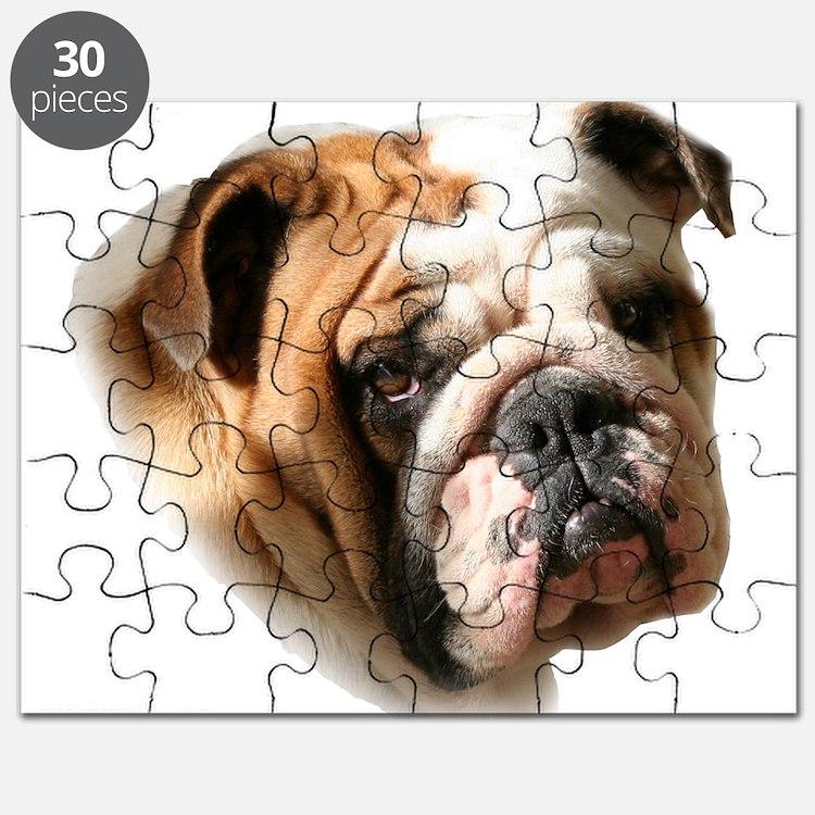 Cute Bulldog Puzzle