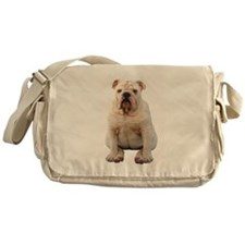 Cute Bulldog Messenger Bag