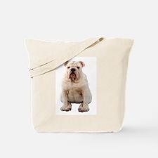 Cute Bulldog Tote Bag