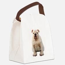 Unique English bulldog Canvas Lunch Bag