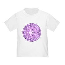 """""""Purple Lotus Mandala"""" T"""