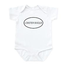 LOBSTER BISQUE (oval) Infant Bodysuit