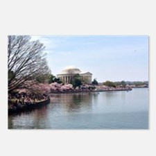 Blossoms in DC Postcards (Package of 8)