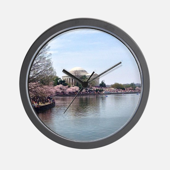 Blossoms in DC Wall Clock