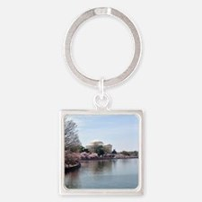 Blossoms in DC Square Keychain
