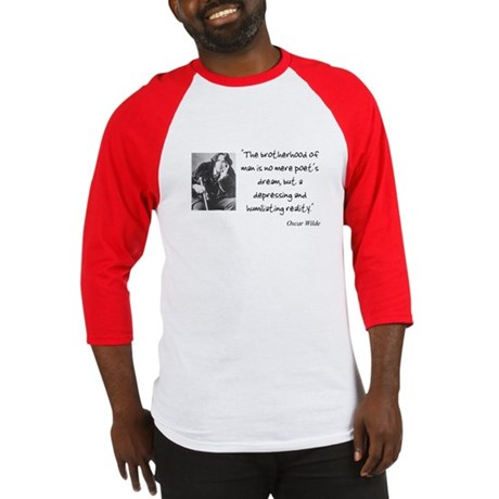 Oscar Wilde Quote Jersey