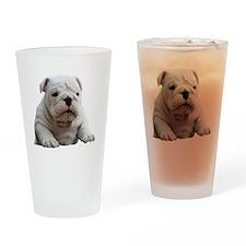 British Bulldog copy Drinking Glass