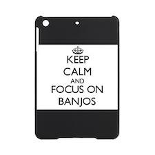 Cute I love banjos iPad Mini Case