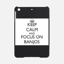 Unique I love banjos iPad Mini Case