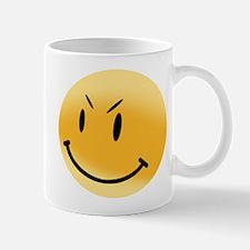 Angry Smiley Face Coffee Mug