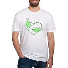 I Love Dolphins(Green) Shirt