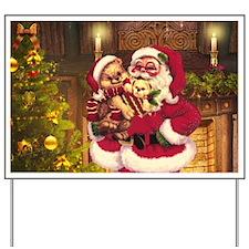 Santa Claus 3 Yard Sign