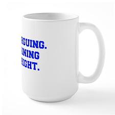 IM-NOT-ARGUING-fresh-blue Mug