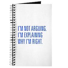 IM-NOT-ARGUING-UNI-BLUE Journal