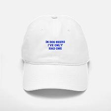 IN-DOG-BEERS-FRESH-BLUE Baseball Baseball Baseball Cap