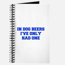 IN-DOG-BEERS-FRESH-BLUE Journal