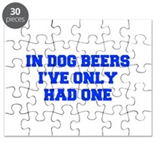 IN-DOG-BEERS-FRESH-BLUE Puzzle