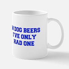 IN-DOG-BEERS-FRESH-BLUE Mugs