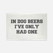 IN-DOG-BEERS-FRESH-GRAY Magnets