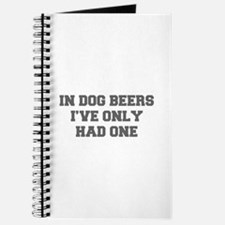 IN-DOG-BEERS-FRESH-GRAY Journal