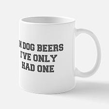 IN-DOG-BEERS-FRESH-GRAY Mugs