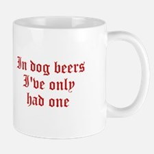 IN-DOG-BEERS-old-red Mugs