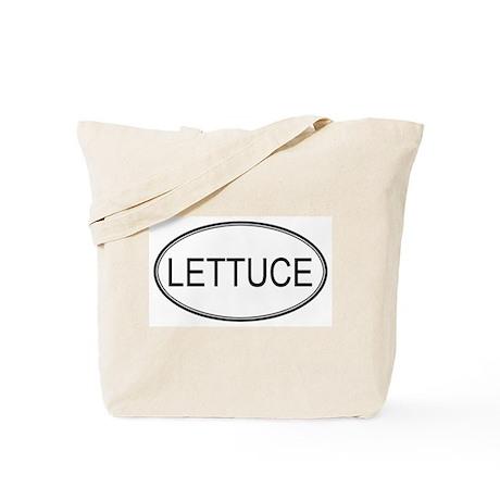 LETTUCE (oval) Tote Bag
