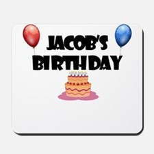 Jacob's Birthday Mousepad
