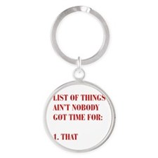 LIST-OF-THINGS-BOD-RED Keychains
