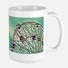 Wonder Wheel Pop Art Mugs