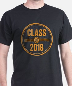 Stamp Class of 2018 Orange T-Shirt