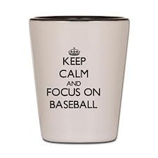 Cute Baseball Shot Glass