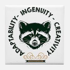 Adaptability Ingenuity Creativity Tile Coaster