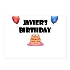 Javier's Birthday Postcards (Package of 8)