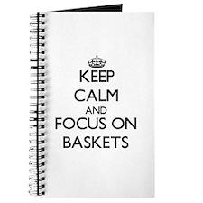 Cute Longaberger basket Journal
