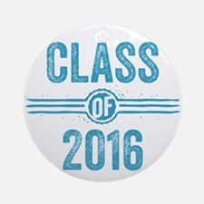 Stamp Class of 2016 Blue Ornament (Round)