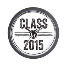 Stamp Class of 2015 Black Wall Clock