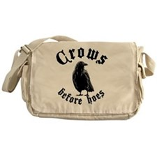 Crows Messenger Bag