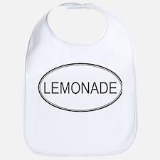 LEMONADE (oval) Bib