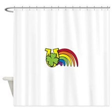 Luck Symbols Shower Curtain