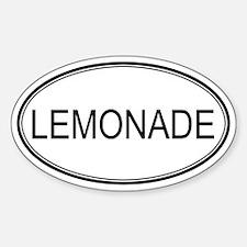 LEMONADE (oval) Oval Decal