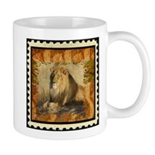 Lion Stamp Mugs