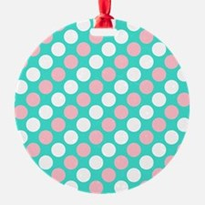 Funny Turquoise Ornament